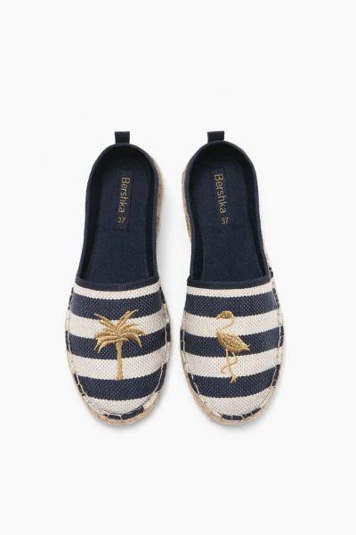 Bershka Jute Sandals, £19.99