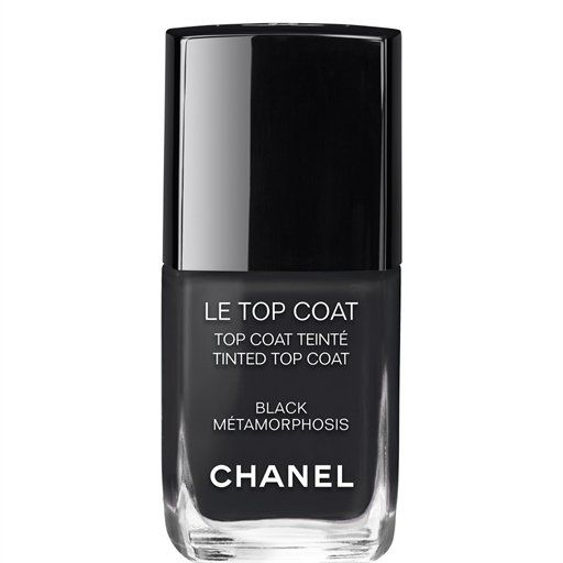 Chanel Le Top Coat in Black Metamorphosis