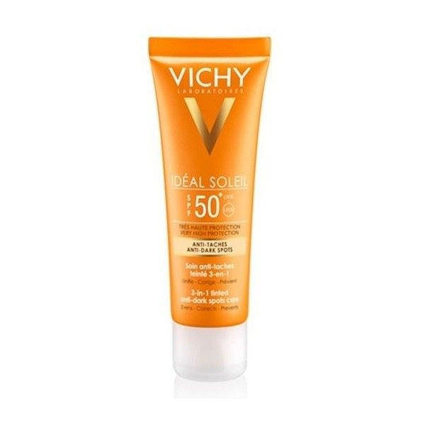 vichy ideal soleil 3 in 1 anti dark spot spf50