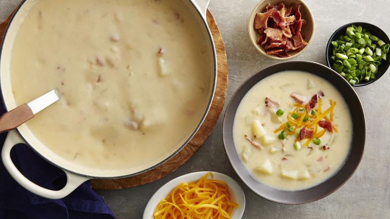 Ας γίνει αυτή η πατατόσουπα η πιο αγαπημένη σούπα της σεζόν