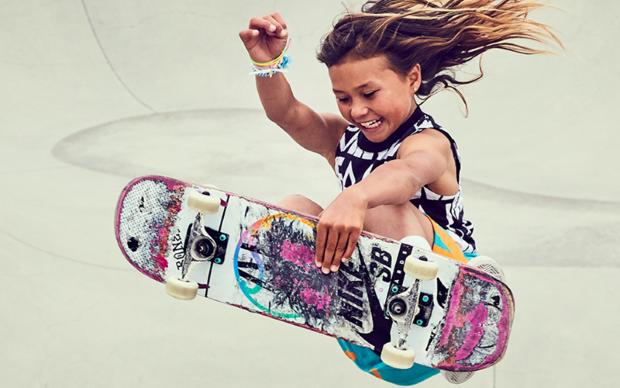 Αυτή η 11χρονη skater ίσως καταφέρει να εμπνεύσει όλες τις γυναίκες εκεί έξω