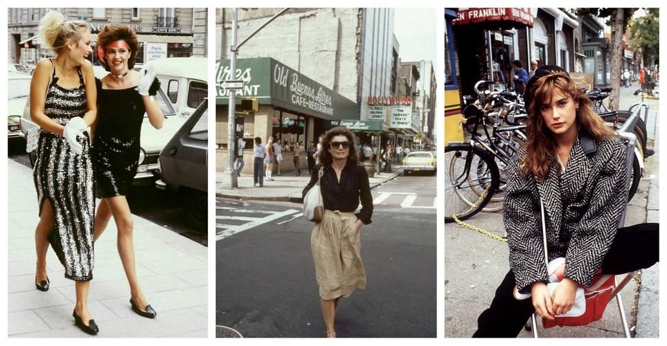 Oι πιο ωραίες στιγμές του 80s street style