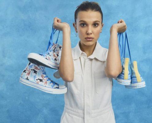 Η έμπνευση πίσω από τη συνεργασία της Millie Bobby Brown με την Converse
