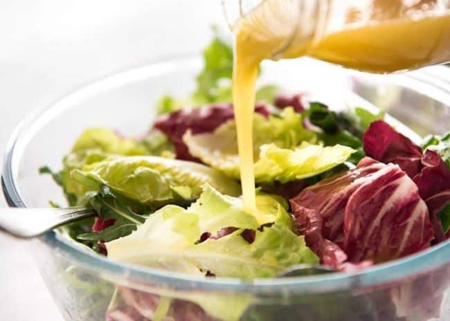 Η συνταγή για French salad dressing