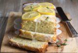 Κέικ λεμονιού με γλάσο και παπαρουνόσπορο