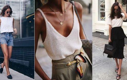 Καλοκαιρινά outfits για εσένα που λατρεύεις τα minimal look