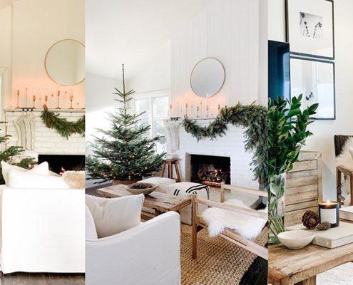 Μέσα στο Χριστουγεννιάτικο σπίτι της Michelle Harriss