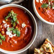 Μαρονική συνταγή για κρεμώδης ντοματόσουπα