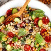 Μεσογειακή σαλάτα με κινόα