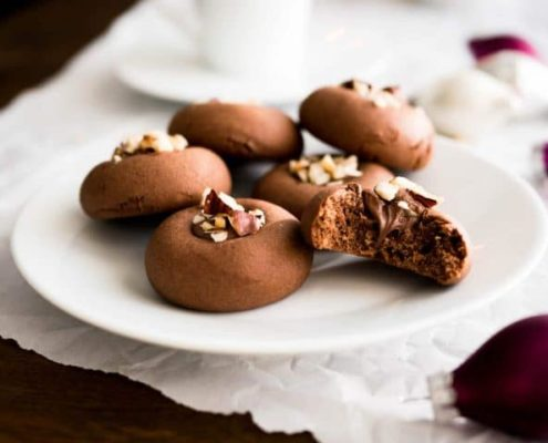 Πως να φτιάξεις μπισκότα γεμιστά με πραλίνα φουντουκιού