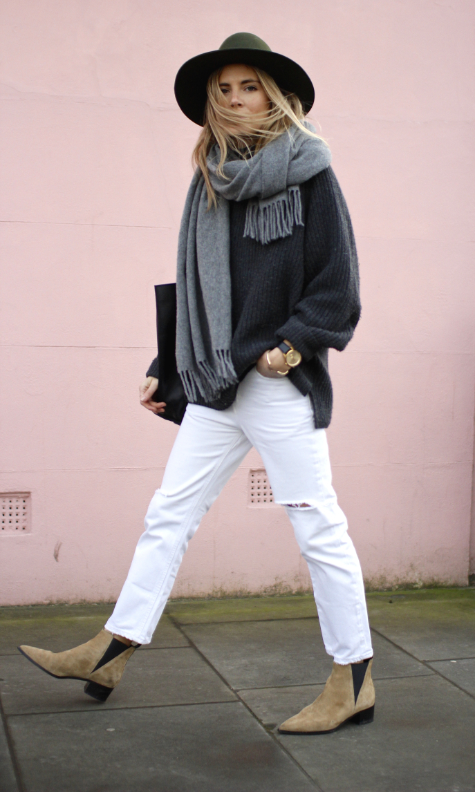 Πώς να φορέσεις το γκρι πουλόβερ