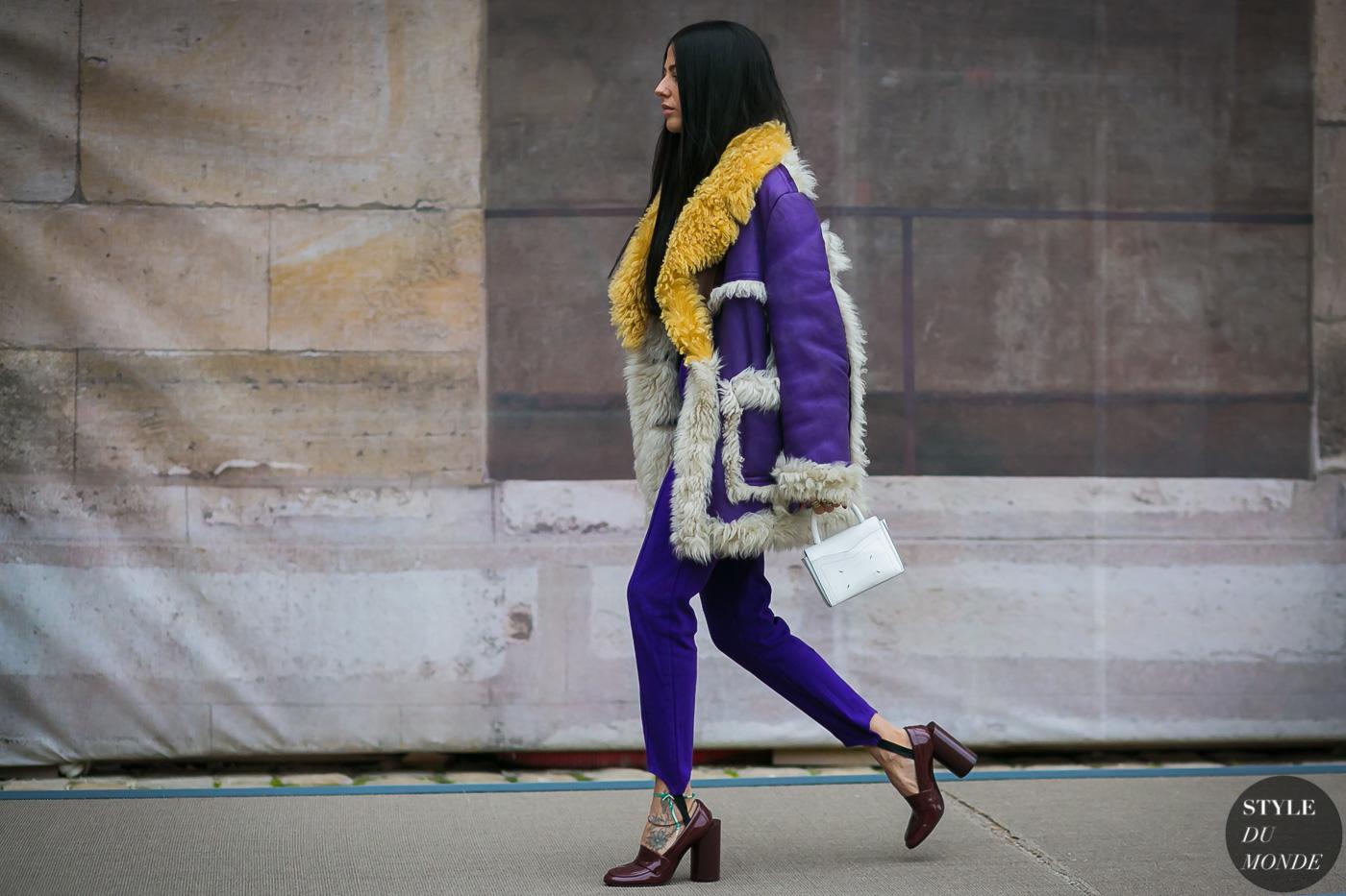 Πώς να φορέσεις το shearling coat το χειμώνα