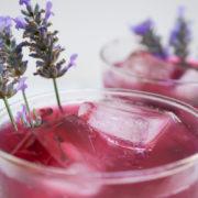 Πώς να φτιάξεις Vodka Spritzer με blueberries και λεβάντα
