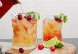 Πώς να φτιάξεις cocktail με whiskey, ginger και cranberries