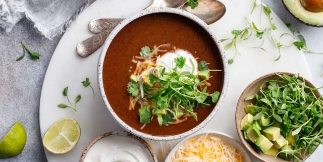 Σούπα από μαύρα φασόλια