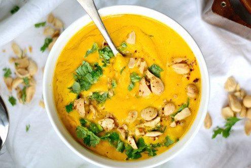 Σούπα με ψητά καρότα και ginger
