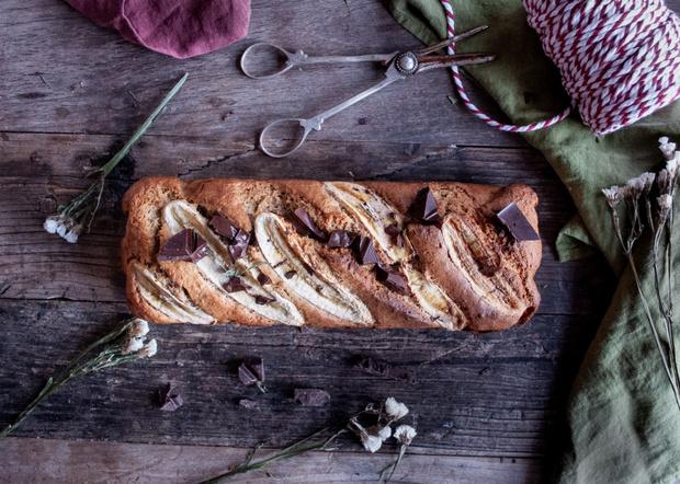 Συνταγή για υγιεινό banana bread