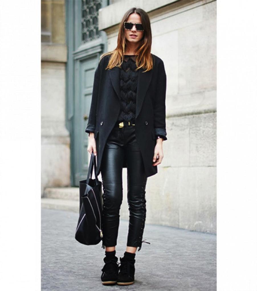 Πως να φορεσεις το total black χωρις να δειχνεις βαρετη