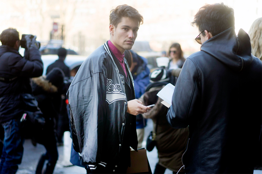 Τα αγορια της εβδομαδας μοδας της Νεας Υορκης! (3)