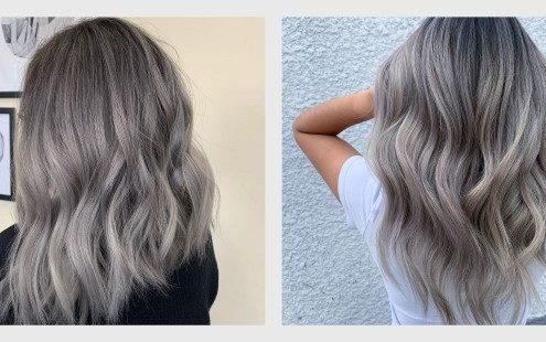 Τα γκρι μαλλιά είναι πλέον cool και το αποδεικνύουν όλες αυτές οι αποχρώσεις και τα hairstyles