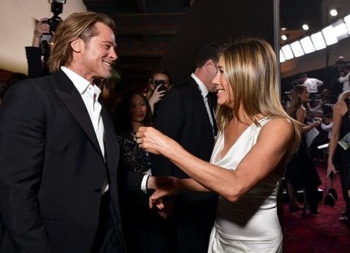 Τι απαντούν ο Brad Pitt και η Jennifer Aniston στις φήμες για επανασύνδεση