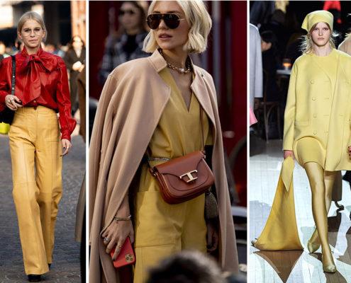 Το κίτρινο είναι το χρώμα της χρονιάς που θα φωτίσει όλα σου τα outfits