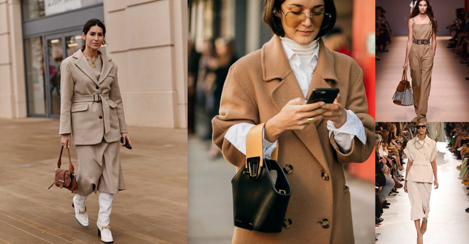 Το beige είναι το βασικό color trend της ανοιξιάτικης σεζόν