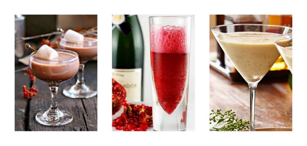 Χριστουγεννιατικα Cocktails