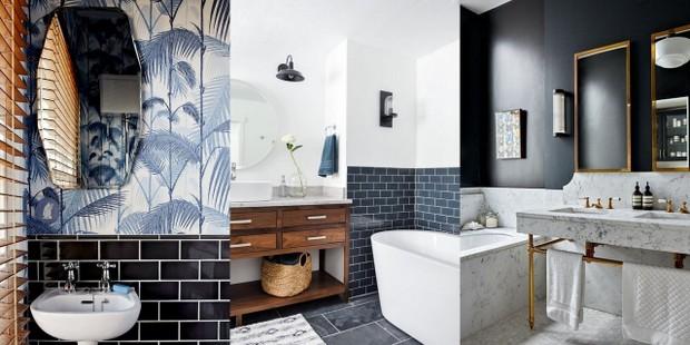 Το γκρι είναι το χρώμα που θα δώσει elegance στο μπάνιο σου