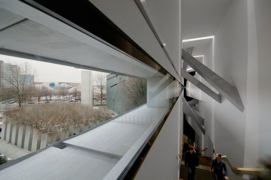 Απόψη του εσωτερικού του Εβραϊκού Μουσείο στο Βερολίνο
