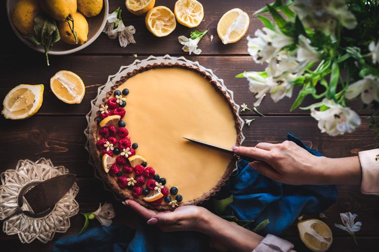 Η πιο εύκολη και γευστική τάρτα λεμονιού