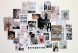 Ιδέες για να φτιάξεις wall collage με φωτογραφίες, βινύλια ή quotes