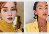 To κίτρινο είναι το χρώμα της χρονιάς και αυτό ισχύει και για τις σκιές ματιών