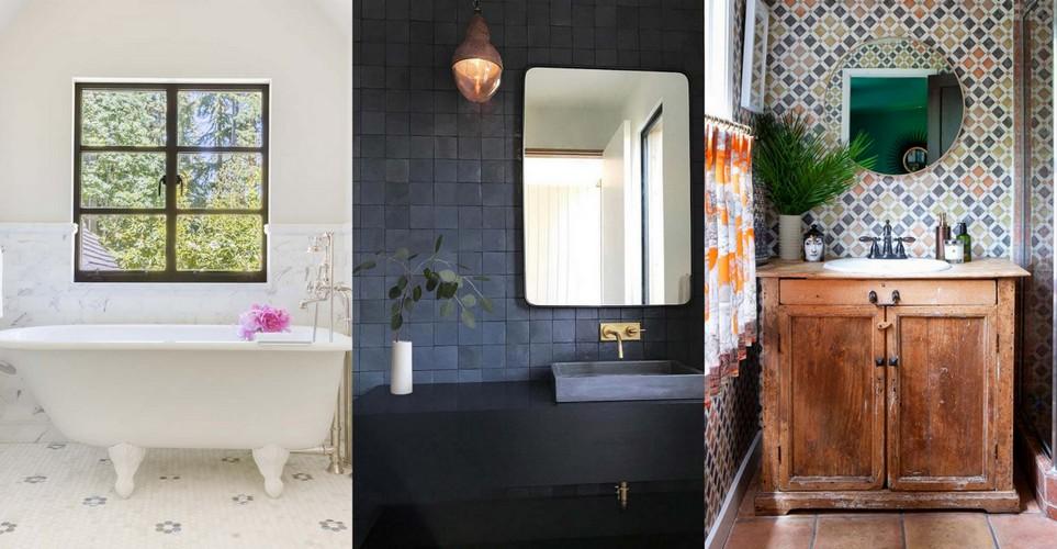 Το trick για να κάνεις το μπάνιο σου να φαίνεται μεγαλύτερο