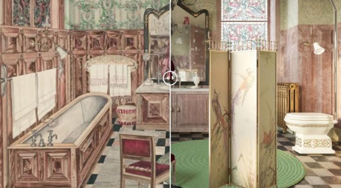 Πώς θα έμοιαζαν στην πραγματική ζωή 6 μπάνια από διάσημους πίνακες