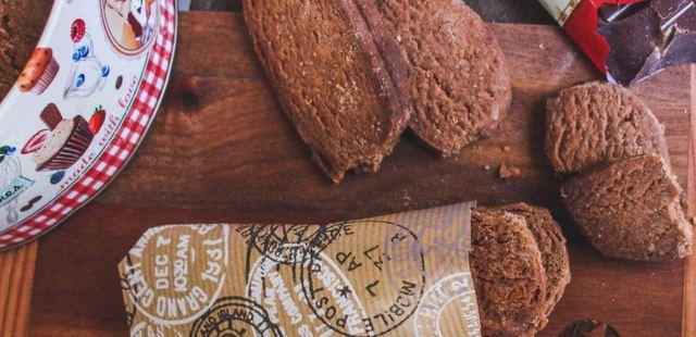 Σοκολατένια shortbread μπισκότα
