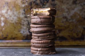 Σοκολατενια μπισκοτα φυστικοβουτυρου