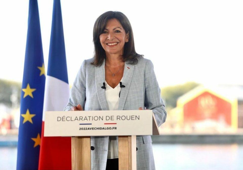 Η δήμαρχος του Παρισιού Anne Hidalgo, θα διεκδικήσει τη γαλλική προεδρία στις εκλογές του 2022