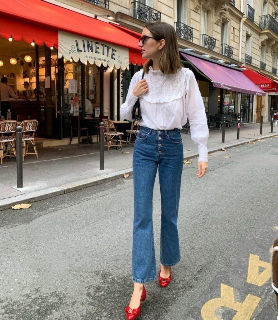 Αυτά ειναι τα 4 ζευγάρια παπουτσιών που συνδυάζονται υπέροχα με τα αγαπημένα σου flare jeans