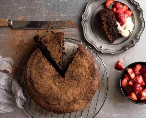 Το κέικ σοκολάτας στο οποίο θα σώσει το φθινόπωρο σου