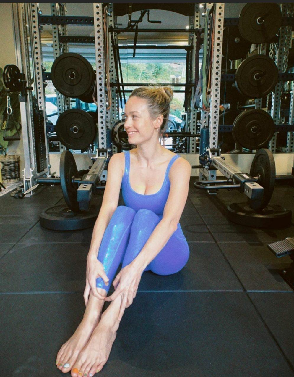 Η Brie Larson θα σου δώσει την απαραίτητη έμπνευση που αναζητάς για το πιο stylish athleisure look