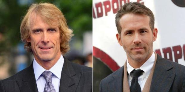 O Ryan Reynolds με τον Michael Bay θα κάνουν ταινία για το Netflix