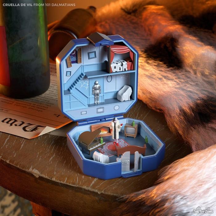 6 νέα Polly Pockets εμπνευσμένα από τους ''κακούς'' της Disney