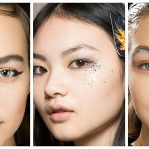 Trend Alert: Οι χρησεις του glitter στο μακιγιαζ