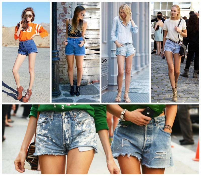 1-jean shorts (Custom)
