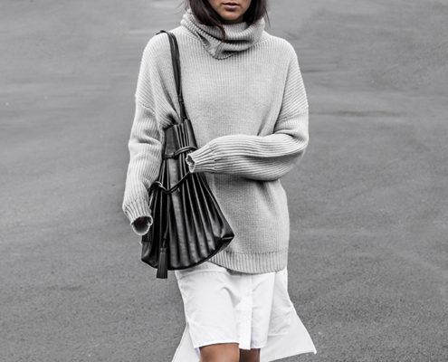 10 τρόποι να φορέσεις το oversized sweater εκτός σπιτιού
