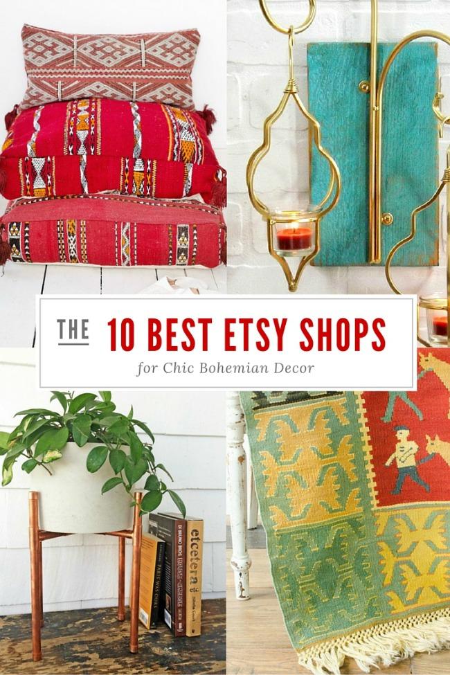Τα 10 καλυτερα etsy shops για boho διακοσμηση