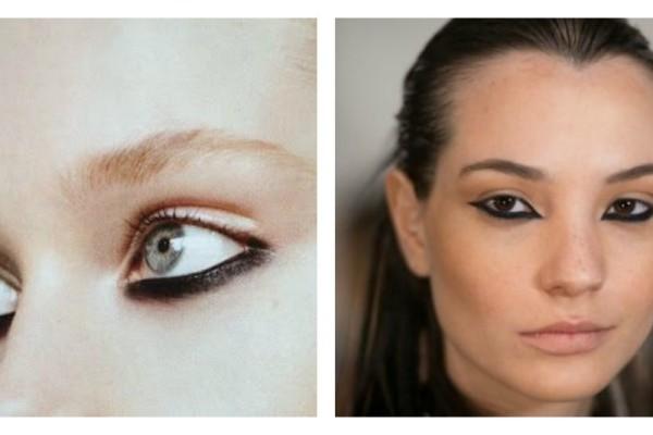 Upside down eyeliner: το trend που ανατρεπει ο,τι εκανες μεχρι τωρα