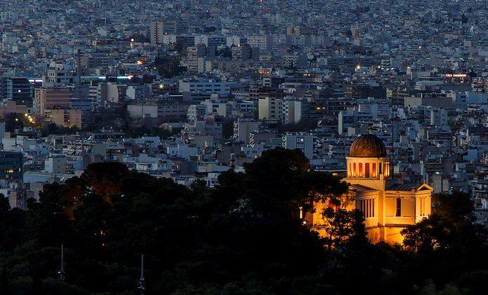 Ξεναγηση στο Εθνικο Αστεροσκοπειο Αθηνων
