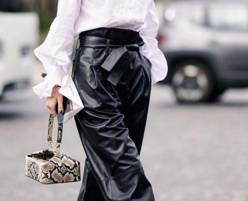 15 τρόποι να φορέσεις το δερμάτινο παντελόνι σου όπως οι fashion influencers